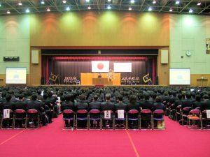 入学宣誓式の様子