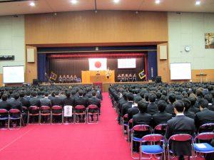 2015年度入学宣誓式1