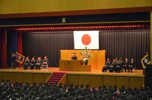 2012年度学位記授与式2