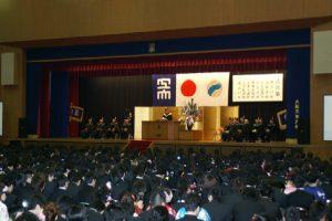 大阪工業大学 学位記授与式