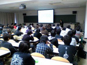 電子情報通信基礎演習Ⅱ OB講演会の実施報告